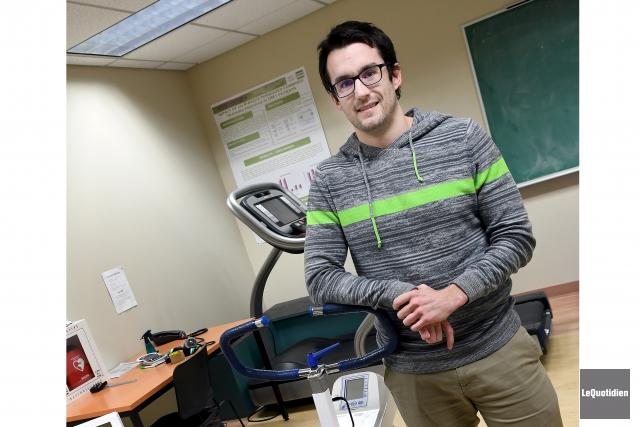 L'étudiant à la maîtrise en sciences cliniques et... (Photo Le Quotidien, Rocket Lavoie)