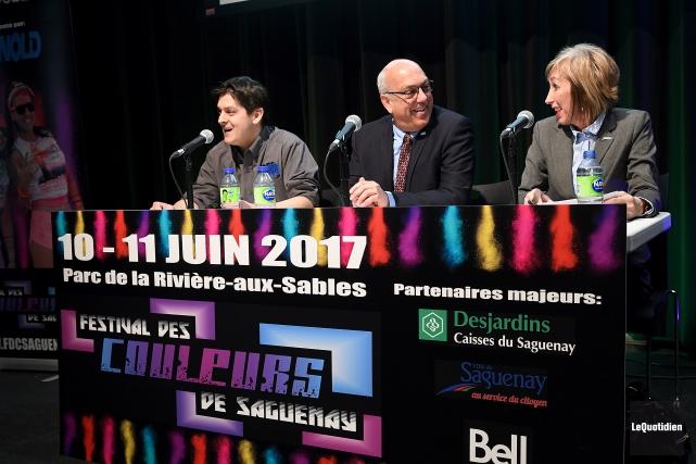 Le directeur général du Festival des couleurs de... (Photo Le Quotidien, Rocket Lavoie)