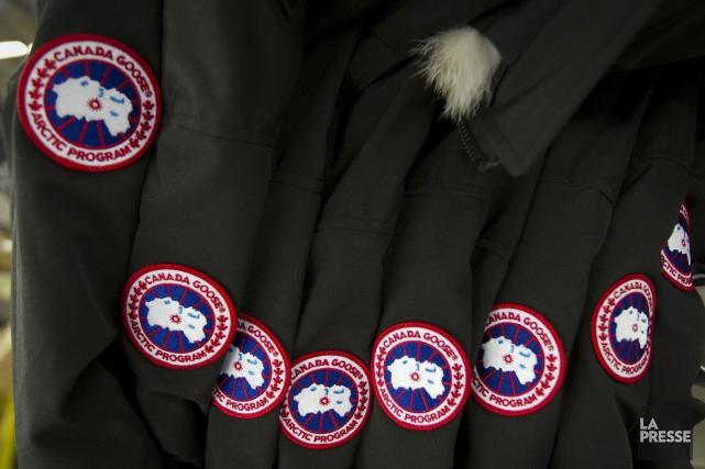 Canada Goose, dont les manteaux d'hiver sont devenus célèbres après avoir été... (Archives La Presse)