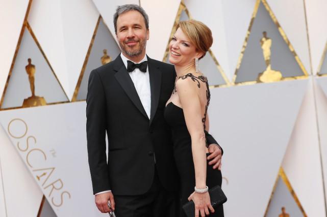 Denis Villeneuve et Tanya Lapointe... (REUTERS)