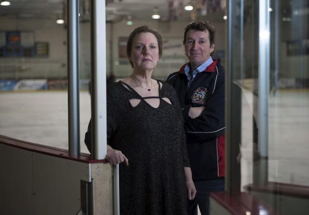Richard Noël, vice-président de l'Association du hockey mineur... (François Gervais)