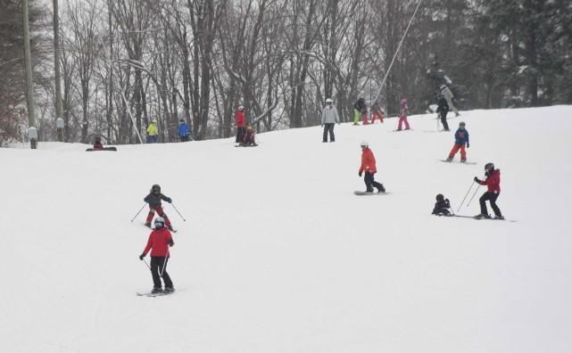 Dans les stations de ski on se réjouit... (Sylvain Mayer)
