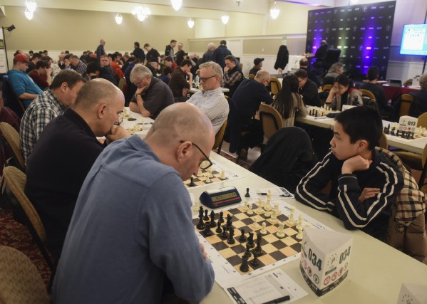 Le premier Open d'échecs de Trois-Rivières s'est amorcé... (François Gervais)