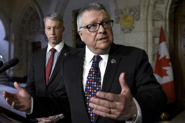 «Le gouvernement du Canada est parvenu à un... (La Presse canadienne, Justin Tang)
