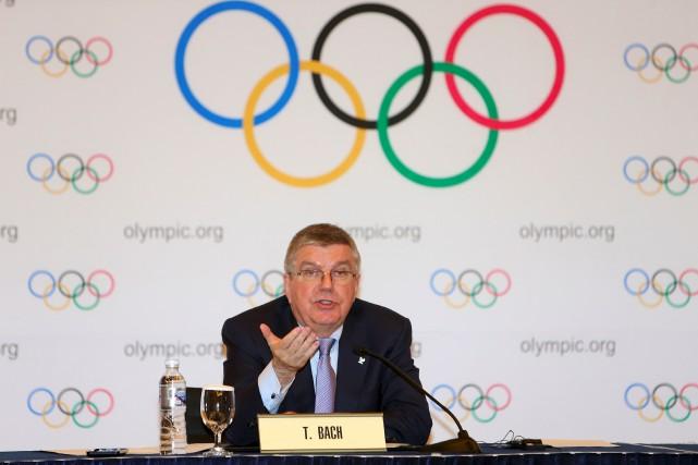 Le président du CIO a ouvert la porte... (AFP)