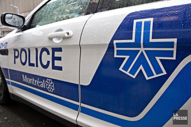 Un homme de 33 ans connu des policiers a été victime d'une tentative de meurtre... (PHOTO PATRICK SANFAÇON, archives LA PRESSE)