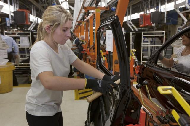 L'économie canadienne pourrait perdre entre 1,5 et 7,5... (Photo Norm Betts, archives Bloomberg)