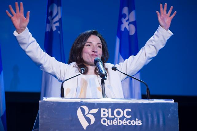Martine Ouellet a lancé un appel au ralliement... (La Presse canadienne, Paul Chiasson)
