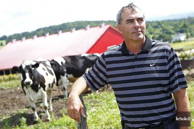 Le président de l'Union des producteurs agricoles, Marcel... (Photothèque Le Soleil)