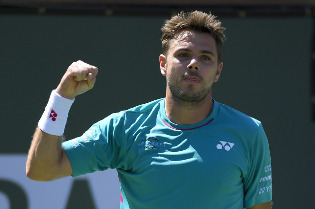Stan Wawrinka pourrait retrouver son compatriote et grand ami... (PHOTO Mark J. Terrill, AP)