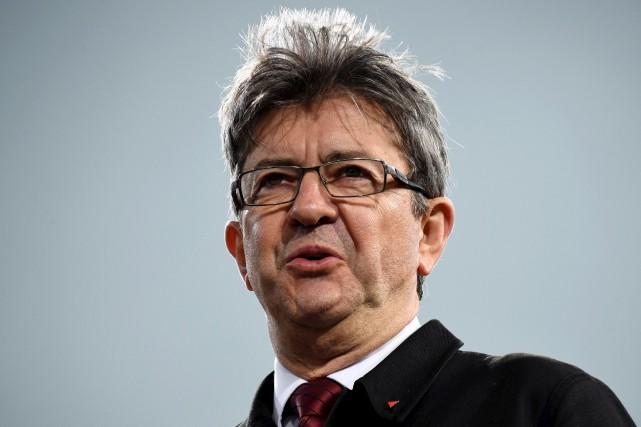 Jean-Luc Mélenchon, a tenu un grand rassemblement samedi,... (AFP, Bertrand Guay)