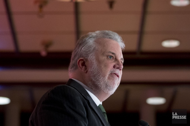 Le premier ministre du Québec Philippe Couillard... (La Presse, François Roy)