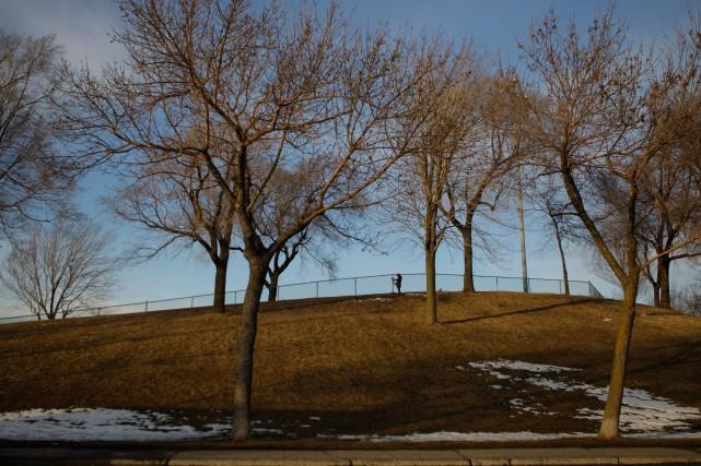 L'arrivée officielle du printemps se fera lundi matin, mais l'hiver n'a pas... (Photo Martin Chamberland, archives La Presse)