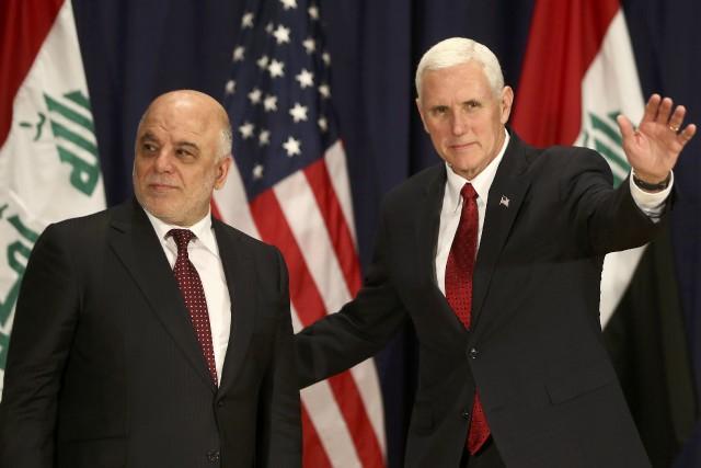 Le premier ministre irakienHaider Al-Abadi avait rencontréen février... (Photo Michael Dalder, Reuters)