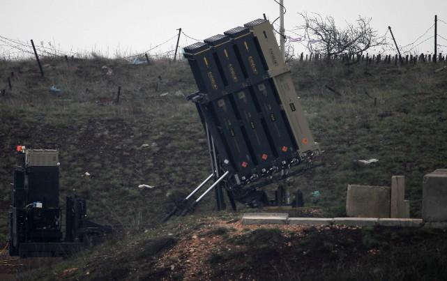 Vendredi, l'armée syrienne a affirmé avoir abattu un... (AFP)