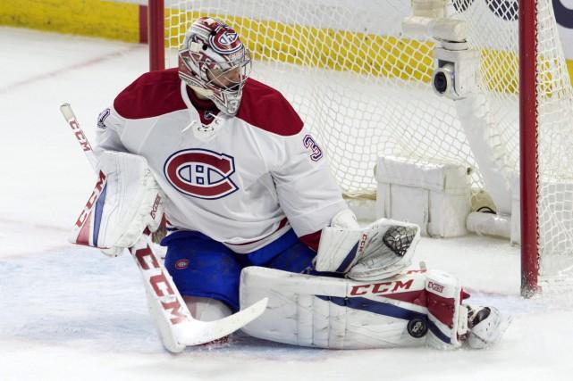 Carey Price amorcera dimanche une deuxième rencontre de... (Photo Adrian Wyld, La Rresse canadienne)