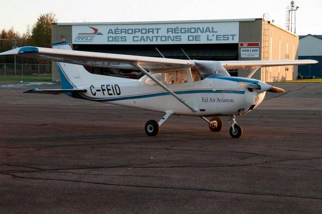 L'école Eid Air Aviation à Bromont n'accueille pas... (tirée d'internet)