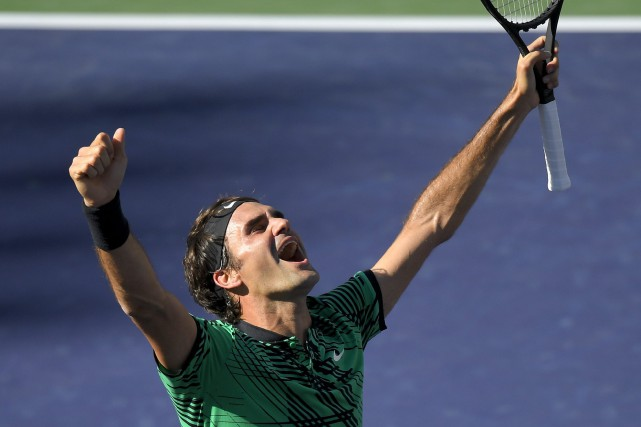 Roger Federer... (Photo Mark J. Terrill, AP)