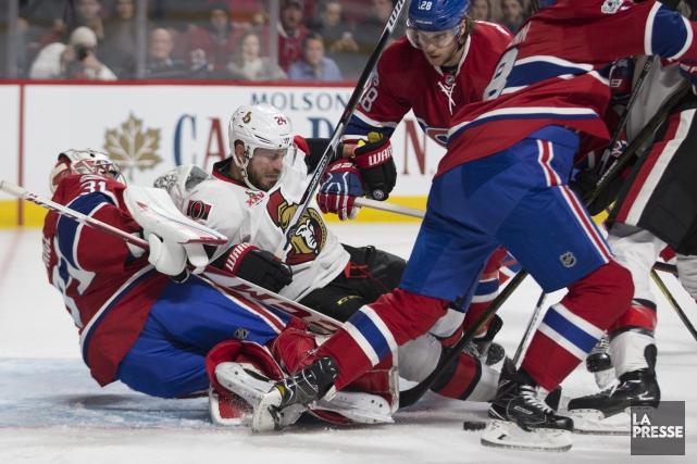 Relisez le clavardage du match entre les Sénateurs et le Canadien avec nos... (PHOTO OLIVIER JEAN, LA PRESSE)