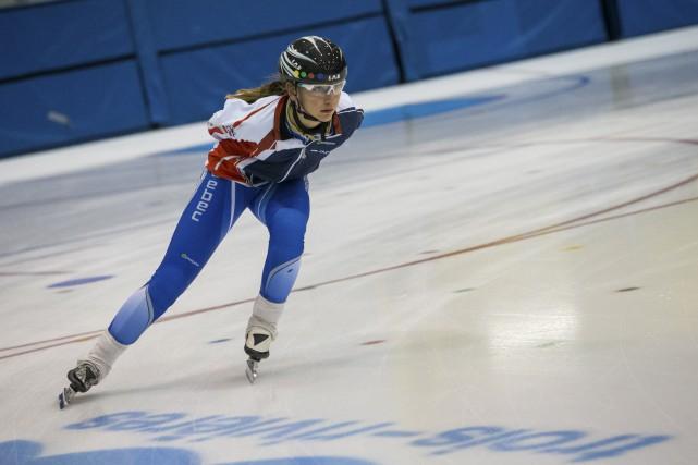 Léa Chamberland-Dostie a terminé au deuxième rang cumulatif... (Olivier Croteau)