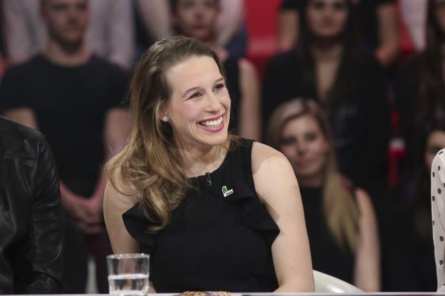 Marianne St-Gelais a peut-être remporté deux fois l'argent... (fournie par ICI Radio-Canada Télé)