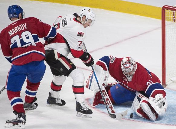 Le gardien du Canadien de Montréal, Carey Price,... (La Presse canadienne, Graham Hughes)