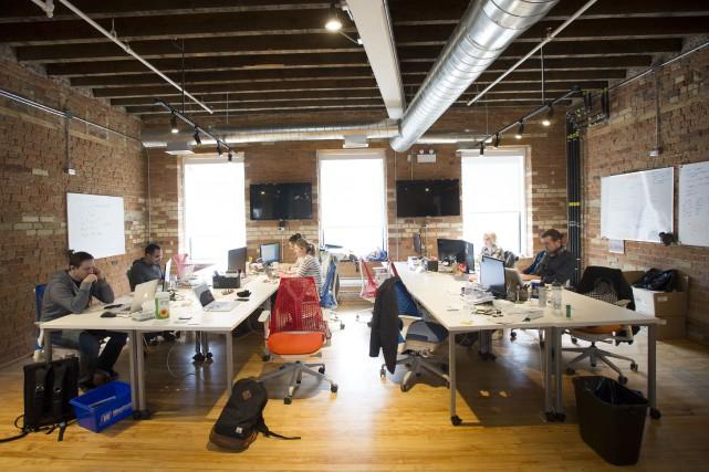 Seulement 1,7% des PME québécoises bénéficient du crédit... (Photo archives Bloomberg)