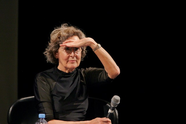 Trisha Brown, en 2005.... (Photo Jacques Demarthon, archives Agence France-Presse)