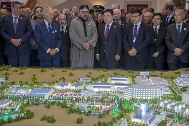Selon la présentation officielle, la «Cité Mohammed VI... (AFP, Fadel Senna)