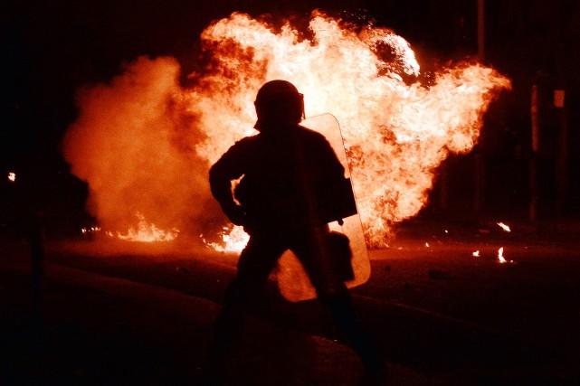 La Conspiration des Cellules de feu, un groupe... (PHOTO AFP)