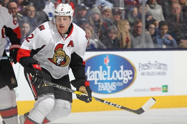 Les Bruins pourchassent les Sénateurs au classement. «Ça... (Archives, Agence France-Presse)