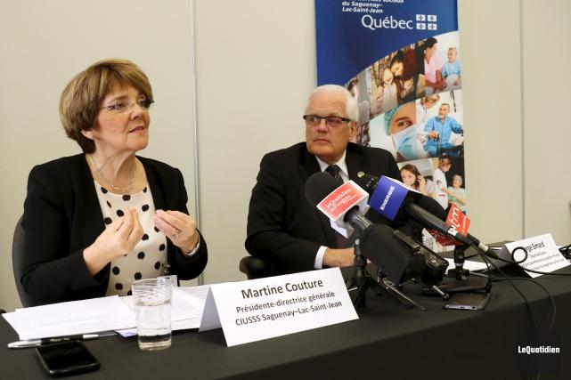 La présidente et directrice générale du Centre intégré... (Photo Le Quotidien, Yohann Gasse)