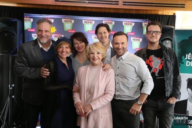 Jici Lauzon, Marie-Chantal Perron, Anick Lemay,Shirley Théroux, Frédérick... (Janick Marois, La Voix de l'Est)
