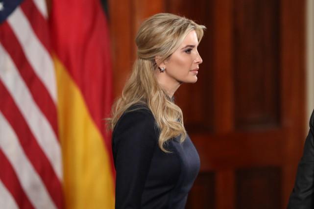 Le rôle d'Ivanka Trump faisait déjà l'objet de... (PHOTO AP)