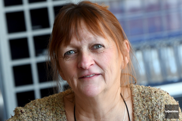 La directrice générale du Théâtre La Rubrique, Lyne... (Photo Le Quotidien, Rocket Lavoie)