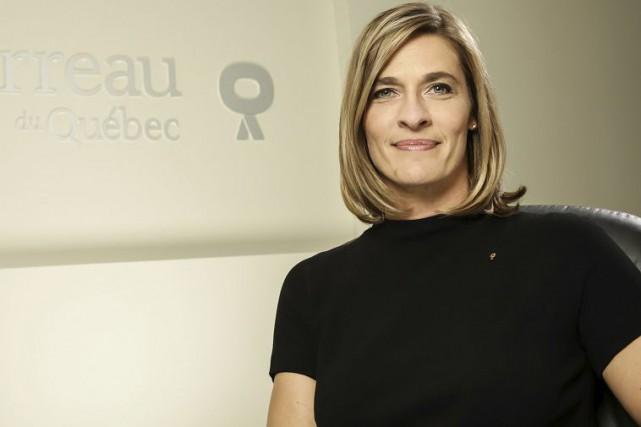 Me Claudia P. Prémont est bâtonnière du Québec.... (Photo fournie)
