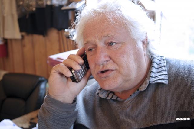 Daniel Gagnon, propriétaire du Zoo de Falardeau.... (Archives Le Quotidien, Rocket Lavoie)