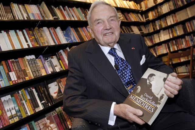 David Rockefeller s'était dissocié de certains de ses... (AFP, Stéphane De Sakutin)