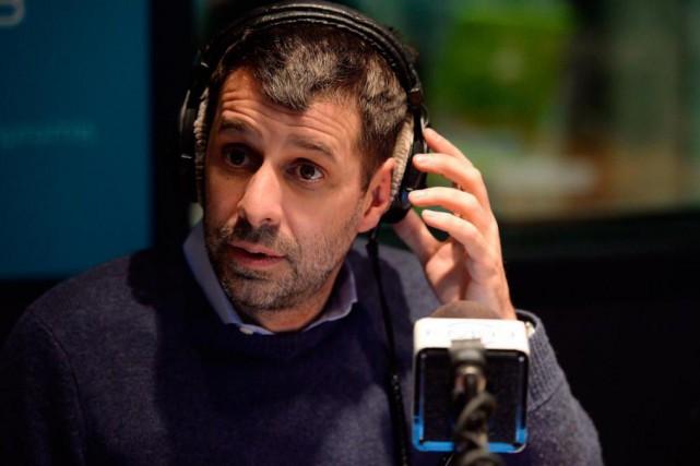 L'animateur de radio Éric Duhaime a révélé qu'il... (PHOTO ERICK LABBÉ, ARCHIVES LE SOLEIL)