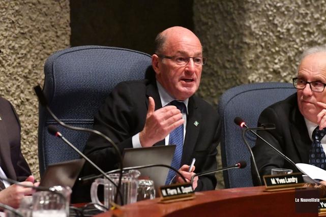 Le conseil de ville de Trois-Rivières a voté,... (Stéphane Lessard, Le Nouvelliste)