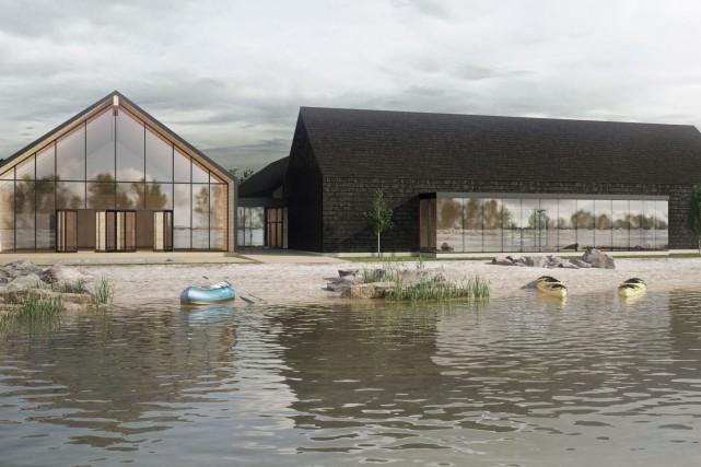 La Base de plein air de Sainte-Foy sera... (PARKA - Architecture & design)