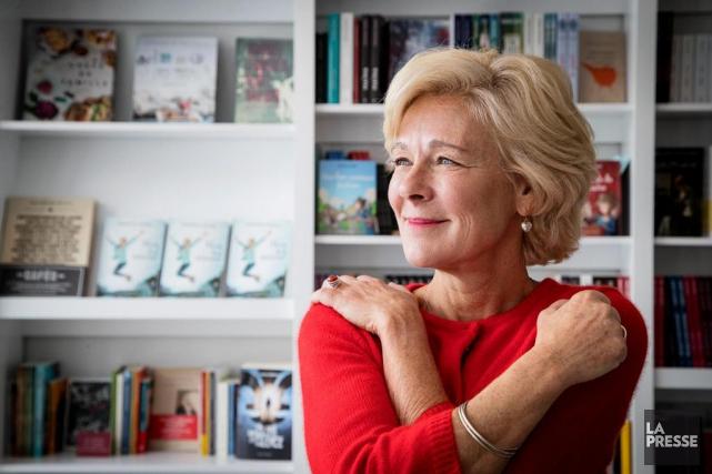 Dans Mon fol amour, un roman qu'elle qualifie... (Photo Alain Roberge, La Presse)