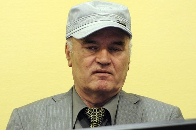 Ratko Mladic, en 2011.... (Photo Martin Meissner, archives Agence France-Presse)