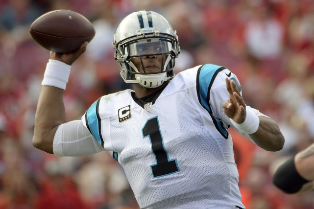 Cam Newton... (Photo Phelan Ebenhack, archives AP)