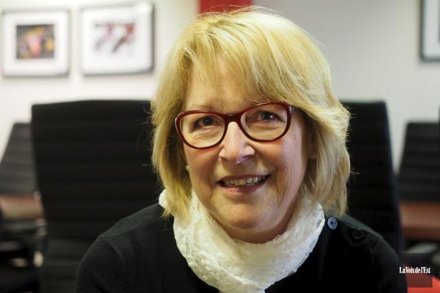 Carmen Belzile, auteure... (archives La Voix de l'Est)