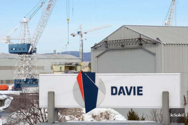 Le chantier maritime Davie ne se laisse pas... (Photothèque Le Soleil, Erick Labbé)