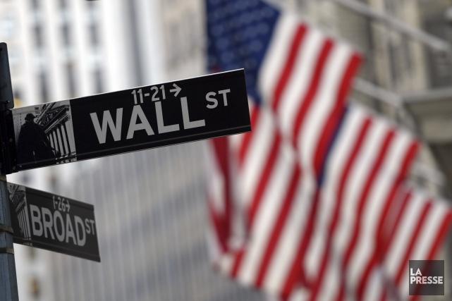Wall Street a terminé en nette baisse mardi, sous le coup de doutes concernant... (Archives, Agence France-Presse)