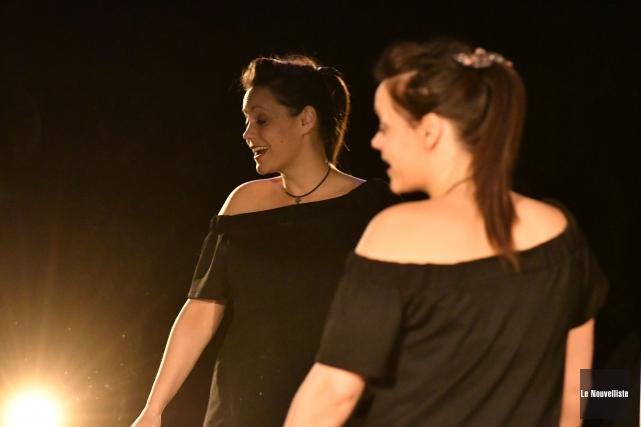 Andréanne Cossette occupera un double rôle dans les... (Stéphane Lessard, Le Nouvelliste)