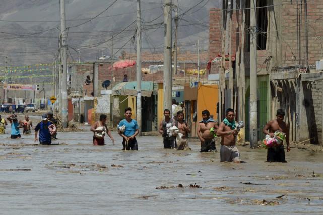 Se déplacer à Huarmeyrelève d'un véritable défi :... (AFP, Cris Bouroncle)