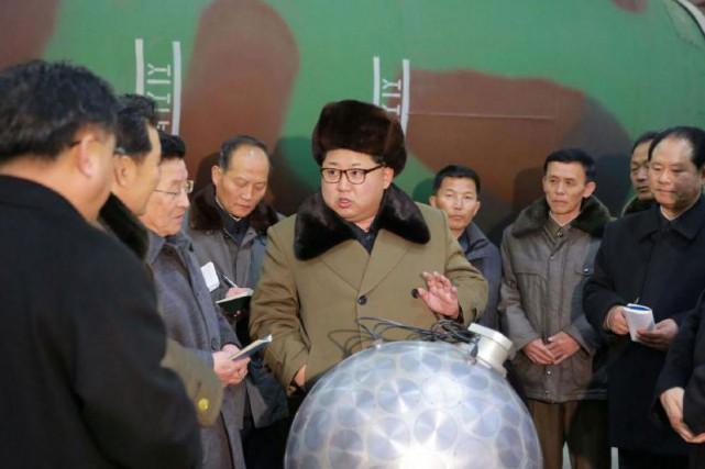 Sur cette photo non datée de l'agence de... (PHOTO D'ARCHIVES DE LA KOREAN CENTRAL NEWS AGENCY)